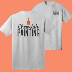 company t-shirt for chewelah painting
