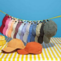 stack of colored hats